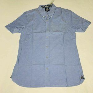 Reyn Spooner Mens Hawaian Shirt Size Large Solid S